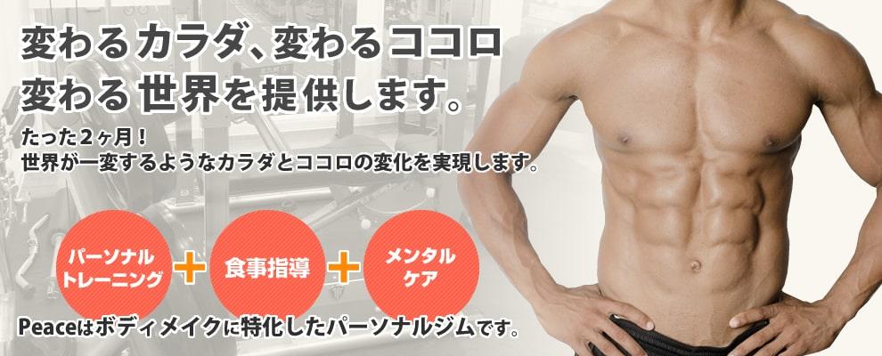 Body make Gym Peace(ボディメイクジム ピース)のジム画像1