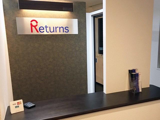 Returns(リターンズ)のジム画像2