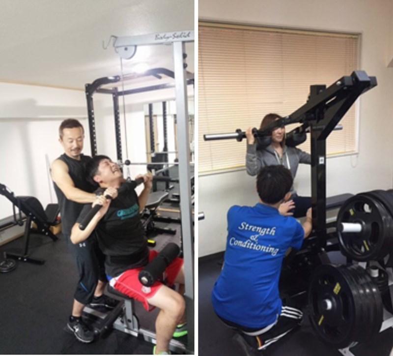 S&Cパーソナルトレーニングのトレーニング実績1