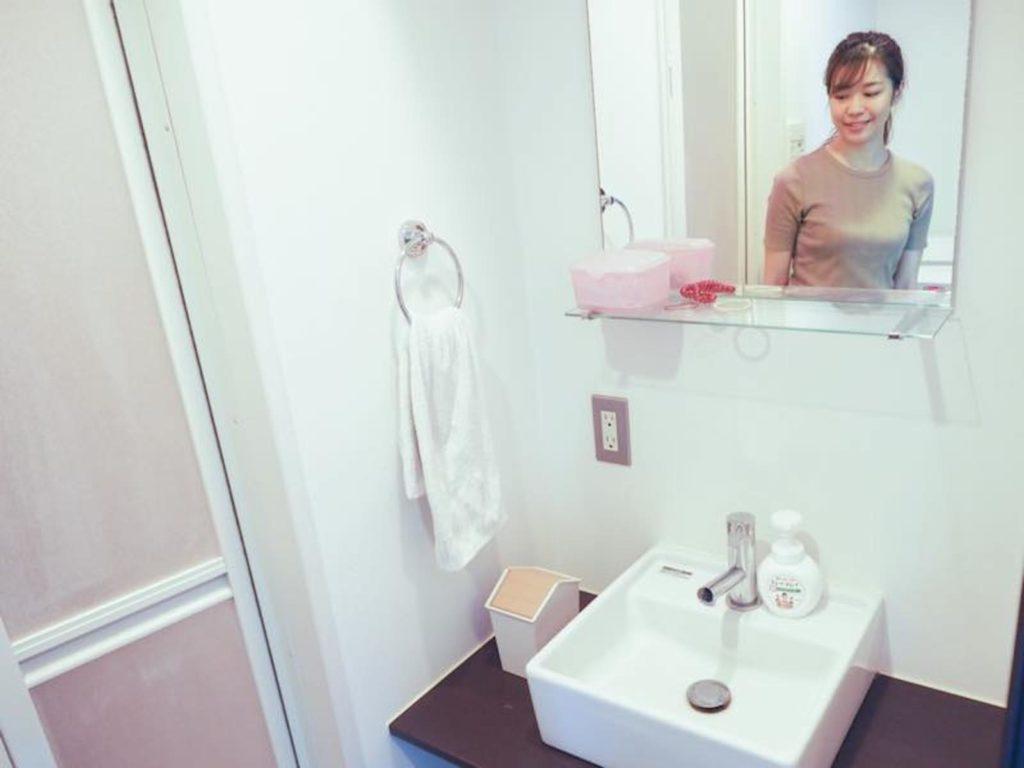 アウトラインシャワー室