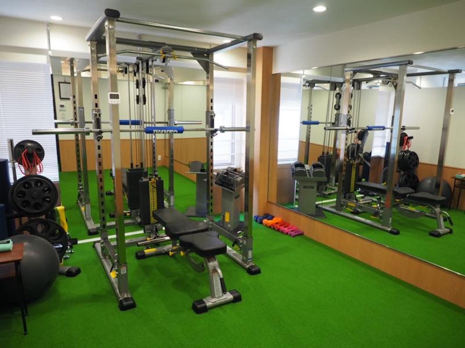 WELBEXトレーニング室