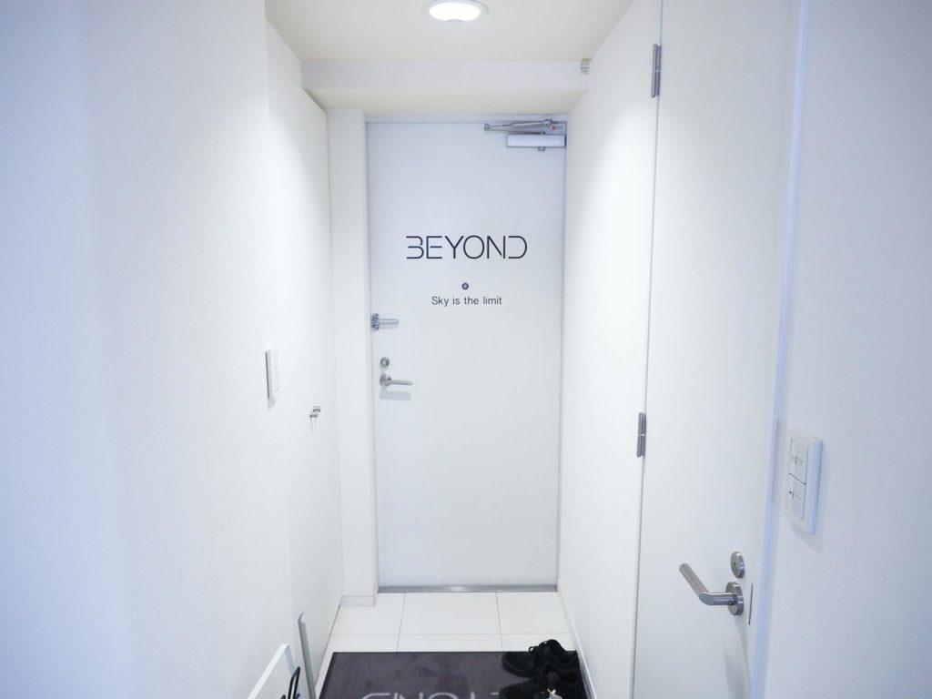 BEYOND玄関
