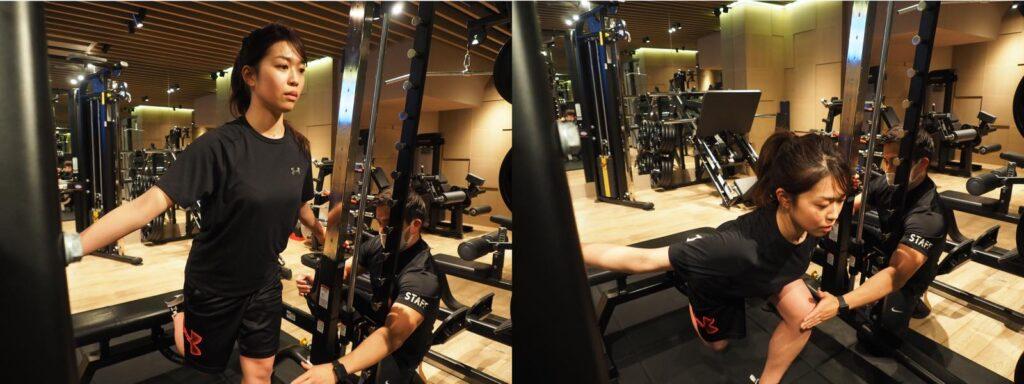33gymトレーニング風景